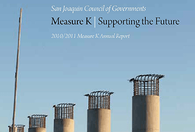 Image of cover of 2010-2011 Measure K Annual Report