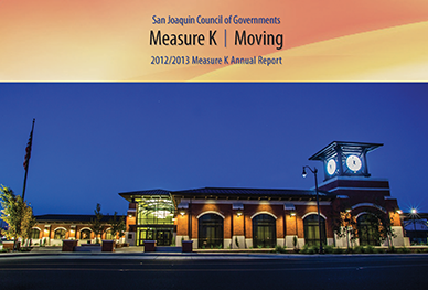 Image of cover of 2012-2013 Measure K Annual Report