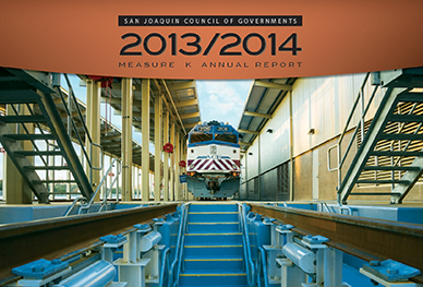 Image of Cover of 2013-2014 Measure K Annual Report