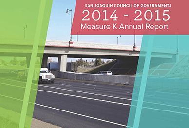 Image of Cover of 2014-2015 Measure K Annual Report