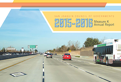 Image of Cover of 2015-2016 Measure K Annual Report